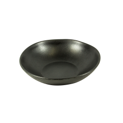 "ECO2418-B - Greenovations Round Bowl 7 1/4"" dia. x 1 3/4"" h., 24 oz., Black"