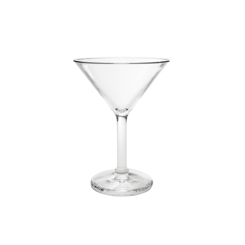 "DW3293PC-CL Martini Glass 4 ¼ "" dia. x 5 ¾ "" h., 6 oz"