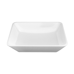 "M1210RC-W Belize Rectangular Bowl 12"" x 10"" x 3"" h., 3 qt., White"