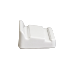 """M21-W Wedge for Trays 2"""" x 2"""" h., White"""