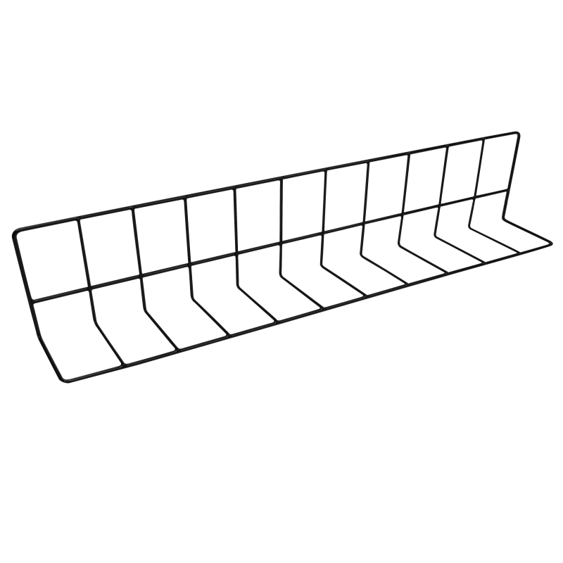 """W4628 Wire Divider Vinyl Coated 4"""" x 6"""" x 28"""" L"""