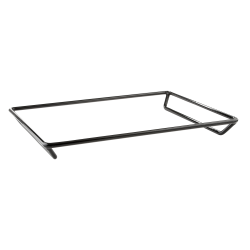 """QSS16202 - Rubber Coated Steel Rack 20"""" x 16"""" x 2"""" h"""
