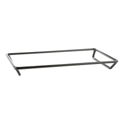"""QSS12202 - Rubber Coated Steel Rack 20"""" x 12"""" x 2"""" h."""