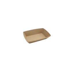 "ECO862-PB - Greenovations Rectangular Bowl 9 ¼"" x 6 ¼"" x 2"" h., 38 oz., Paper Bag"