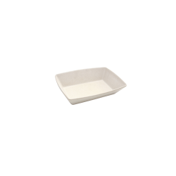 "ECO862-PP Greenovations Rectangular Bowl 9 ¼"" x 6 ¼"" x 2"" h., 38 oz., Papyrus"
