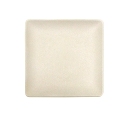 "ECO1111SQ-PP - Greenovations Square Plate 11"" sq. x 1"" h., Papyrus"