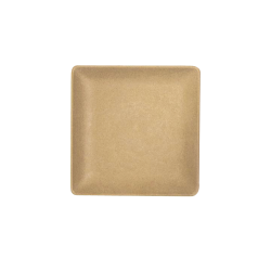 "ECO66SQ-PB Greenovations Square Plate 6"" sq. x 5/8"" h., Paper Bag"