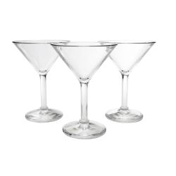 Martini Glasses- Premium Polycarbonate Drinkware