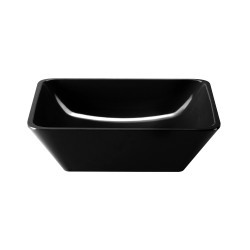 "M10SQ-B Belize Square Bowl  10"" sq. x 3"" h., 2.25 qt., Black"