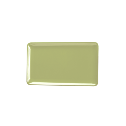 "M2011RC-WWG Belize Rectangular Tray 20"" x 11"" x 1 ¼"" h., Weeping Willow Green"