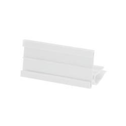 "TAG35112-W Tag Holder 3 ½"" x 1 ½"" h., White"