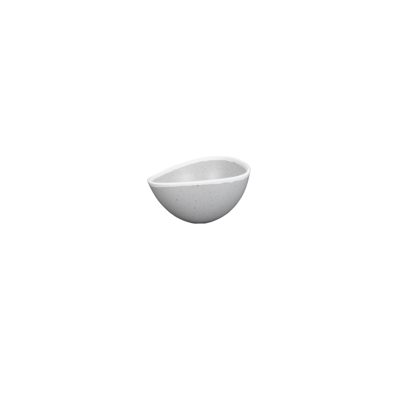 "B172055 Glacier™ Irregular Bowl, 5 3/4"" x 5"" x 3 1/8"" h., 14 oz."